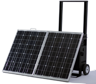 KOZI Go Anywhere Solar Powered Generator system Model SLGAB062
