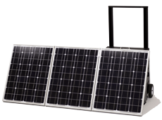 KOZI Go Anywhere Solar Powered Generator system Model SLGAB103