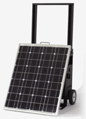 KOZI Go Anywhere Solar Powered Generator system Model SLGAB061