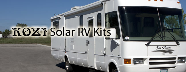 KOZI Solar RV Kit
